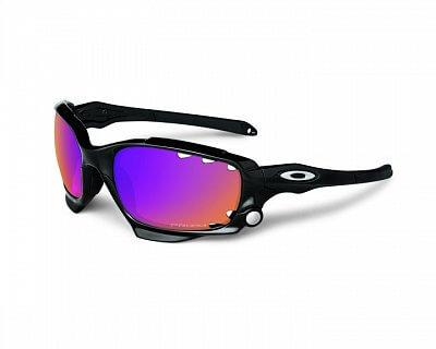 Sluneční brýle Oakley RacingJacketPolBlkw/PrizmTrail&ClearVtd.