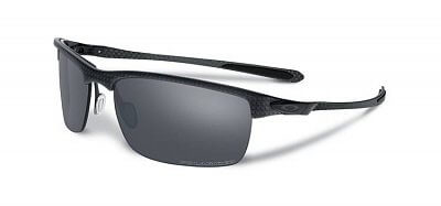 Oakley Carbon Blade Matte/StnBlk w/BlkIrdPolr