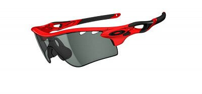 Sluneční brýle Oakley Radarlock Infrared/ Clear Black Iridium Photochromic Vented