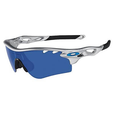 Oakley Radarlock Silver/ Ice Iridium Vented & Vr28 Vented Path