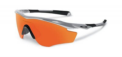 Sluneční brýle Oakley M2 Frame Silver w/ Fire Iridium