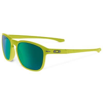 Sluneční brýle Oakley Enduro Matte Fern W/Jade Irid Pol
