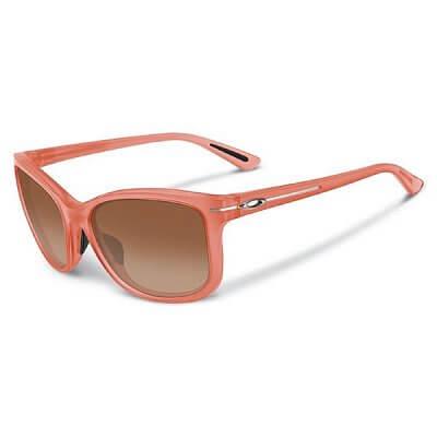 Sluneční brýle Oakley Drop In Frosted Peach/VR50BrnGrd