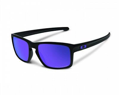 Sluneční brýle Oakley Sliver Matte Black w/ Violet Irid Polar