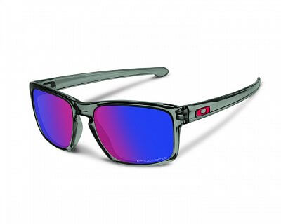 Oakley Sliver Grey Smoke w/ + Red Iridium Polar