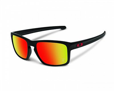 Oakley Sliver Matte Black w/Ruby Iridium
