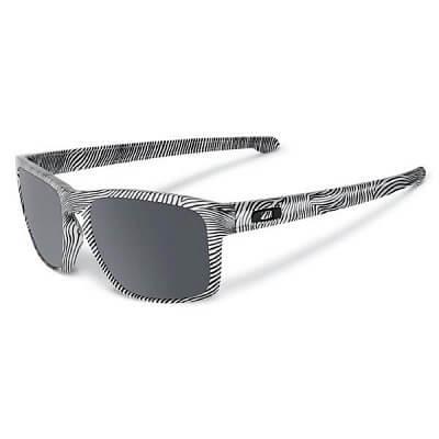 Sluneční brýle Oakley Sliver Fingerprint White w/Black Irid