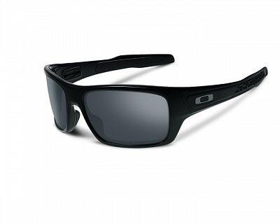 Sluneční brýle Oakley Turbine Polished Black w/ Black Iridium
