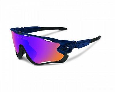 Sluneční brýle Oakley JAWBREAKER Polished navy/prizm trail