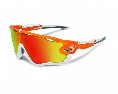 Oakley JAWBREAKER Atomic Orange/fire iridium pol