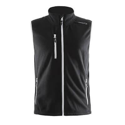 Vesty Craft Vesta Fleece černá