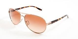 Sluneční brýle Oakley Feedback Rose Gold/VR50 Brown Gradient
