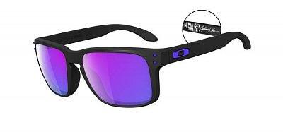 Sluneční brýle Oakley Holbrook Matte Black / Violet Iridium