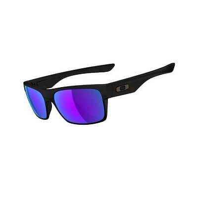 Sluneční brýle Oakley Twoface Matte Black W/ Violet Irid