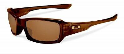 Sluneční brýle Oakley Fives Squared Pol Rtbr w/ Dk Bronze