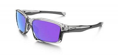 Sluneční brýle Oakley Chainlink Polished Clear w/ Violet Irid