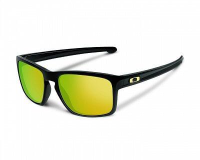 Sluneční brýle Oakley Sliver Polished Black w/ 24k Iridium