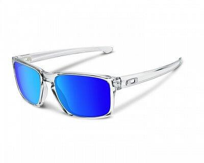 Sluneční brýle Oakley Sliver Polished Clear w/ Sapphire Irid