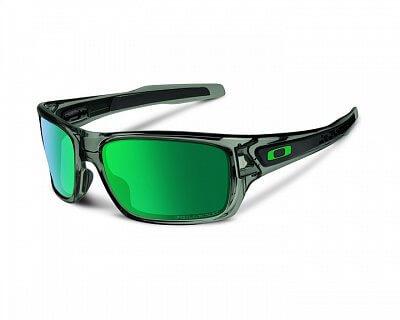 Sluneční brýle Oakley Turbine Grey Smoke w/ Jade Iridium Polar
