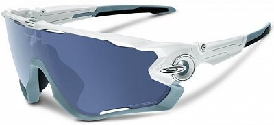Sluneční brýle Oakley JAWBREAKER Polished white/grey pol