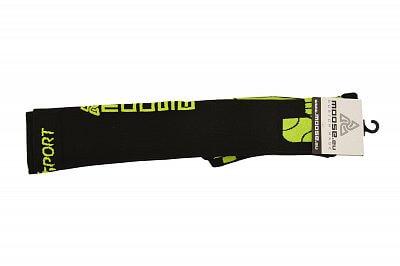Ponožky Moose Compress Sanasport černá/zelená