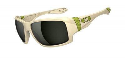 Sluneční brýle Oakley Big Taco Matte Bone W/ Dark Grey