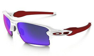 Sluneční brýle Oakley FLAK 2.0 XL XL POLISHED WHITE POSITIVE RED IRIDIUM
