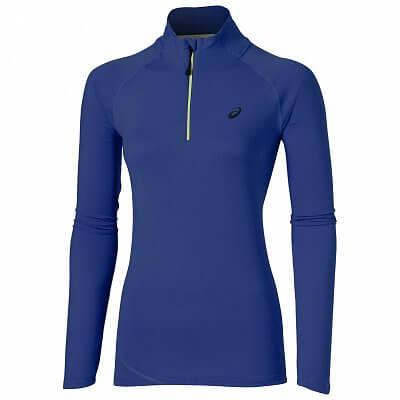 Dámské běžecké tričko Asics LS Half Zip Jersey