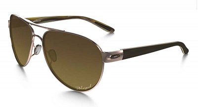 Sluneční brýle Oakley DISCLOSURE  ROSE GOLD BROWN GRADIENT POLARIZED
