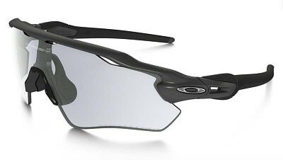 Sluneční brýle Oakley RADAR EV PATH STEEL CLEAR BLACK IRIDIUM PHOTOCROMATIC