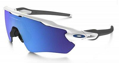 Sluneční brýle Oakley RADAR EV PATH POLISHED WHITE SAPPHIRE IRIDIUM
