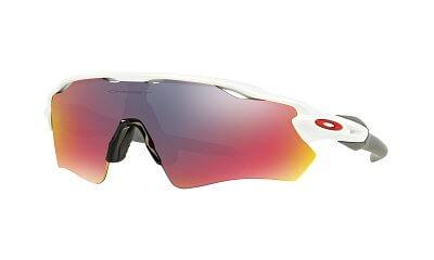 Sluneční brýle Oakley RADAR EV PATH POLISHED WHITE POSITIVE RED IRIDIUM
