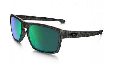 Sluneční brýle Oakley SLIVER  MATTE OLIVE INK JADE IRIDIUM