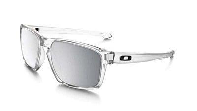 Sluneční brýle Oakley SLIVER  MATTE CLEAR CHROME IRIDIUM
