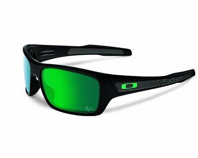 Sluneční brýle Oakley Moto GP Turbine Matte Black w/Jade Irid