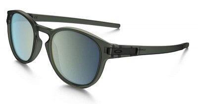 Sluneční brýle Oakley LATCH  MATTE OLIVE INK EMERALD IRIDIUM