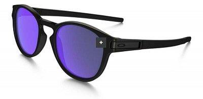 Sluneční brýle Oakley LATCH  MATTE BLACK VIOLET IRIDIUM