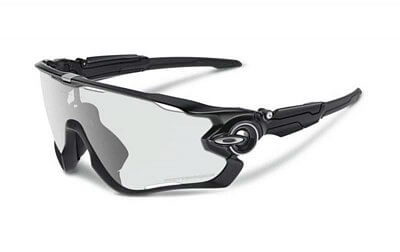 Sluneční brýle Oakley JAWBREAKER  POLISHED BLACK CLEAR BLACK IRIDIUM PHOTOCROMATIC