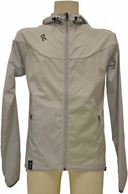 Pánská běžecká bunda On Cloud Performance Running Jacket M glac. grey