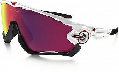 Sluneční brýle Oakley Jawbreaker Polished White w/ Prizm Road