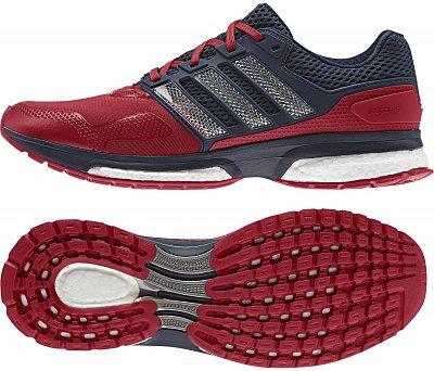 Pánské běžecké boty adidas response 2 techfit m