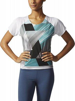 Dámské běžecké tričko adidas adizero Short Sleeve Tee W