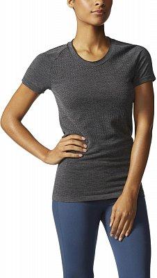 Dámské běžecké tričko adidas ADISTAR WOOL PRIMEKNIT SS T W