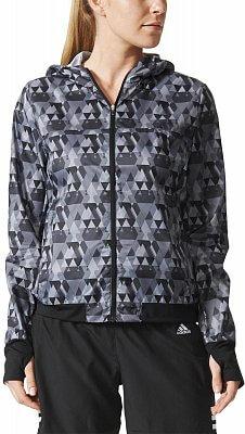 Dámská běžecká bunda adidas RUN GRAPHIC JKT