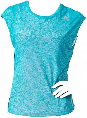 Dámské běžecké tričko adidas RUN SS LAYER T