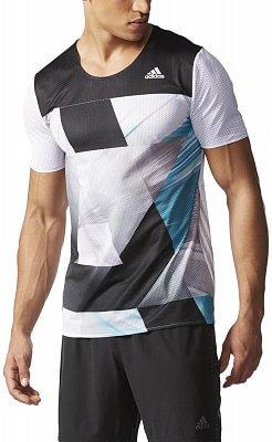 Pánské běžecké tričko adidas adizero Short Sleeve Tee M