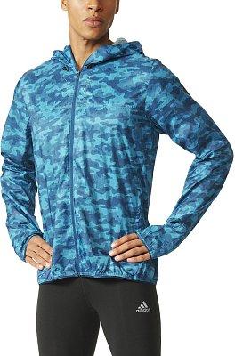 Pánská běžecká bunda adidas KANOI WIND JKT
