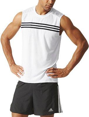Pánské běžecké tričko adidas Response Sleeveless M