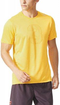 Pánské běžecké tričko adidas Response Graphic S/S Tee M