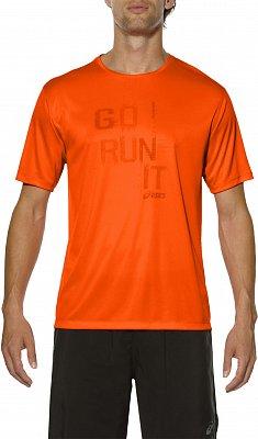 Pánské běžecké tričko Asics Short Sleeve Tee